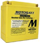 Thunderbird 1600/1700 MBTX20U MOTOBATT High Torque Battery: CTX YTX20L-BS. 12V/21AH 280 Cca!